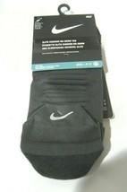 1 Pair Men's Nike DRI-FIT Elite Cushion No Show Tab Socks Men's Shoe SZ ... - $14.99