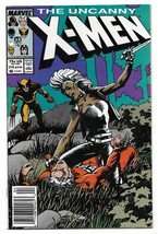 Copper Age 1987 The Uncanny X-Men Comic 216  - £2.95 GBP