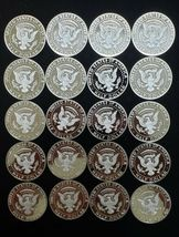 2019 S Silver Proof Kennedy Half Dollar Roll of 20 .999 Silver Gem Coins Lot # 2 image 5
