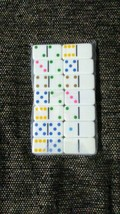 Travel Sized Double Sided Dominoes Game - $6.00