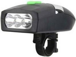 Afpin Ap-001 Bicicleta Cuerno & LED Luz Delantera (Negro) - $22.64