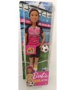 Barbie You Can Be Anything Athlete Soccer Doll Mattel GFX26 - $16.00