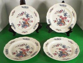 Wedgwood Williamsburg POTPOURRI Salad Plate (s) LOT OF 4 Queen's Ware NK510 - $25.69