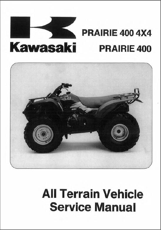 1997 2002 kawasaki prairie 400 4x4 atv and similar items rh bonanza com 2002 kawasaki prairie 300 owners manual 2002 kawasaki prairie 400 service manual