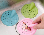 Silicone Floor Drain Strainer Tub Stoper Hair Catcher Removal Tool Stopper for B