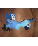 "RIO 2 BIA Blue Macaw Brand New Plush NWT Stuffed Animal With Tags 15"" SU... - $11.99"
