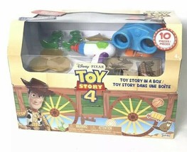 Disney Pixar TOY STORY 4 limited Edition Toy Story In A Box 10 Pieces Ch... - $19.99