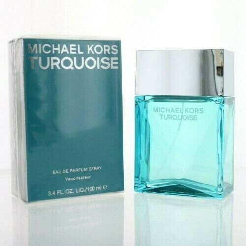 Primary image for Michael Kors TURQUOISE 3.4 oz EDP Spray for women - FACTORY SEALED -