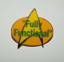 Star Trek: The Next Generation Fully Functional Phrase Enamel Metal Pin ... - $7.84