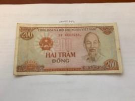 Vietnam 200 dong banknote 1987 - $5.95