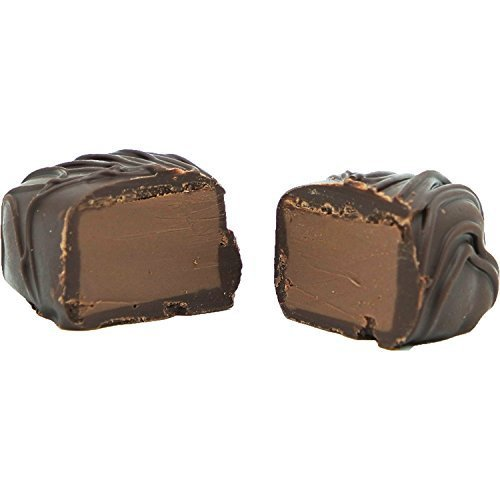 Philadelphia Candies Orange Meltaway Truffles, Dark Chocolate 1 Pound Gift Box
