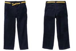 Gymboree Junior Linebacker 3 10 slim Blue Corduroy Pants 2013 - $16.27+