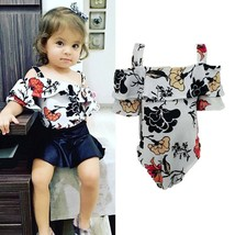 nebworn Infant Flare Sleeve Rompers baby girl new arrival casual one pie... - $9.69