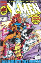 The Uncanny X-Men Comic Book #281 Marvel Comics 1991 FINE- - $2.75