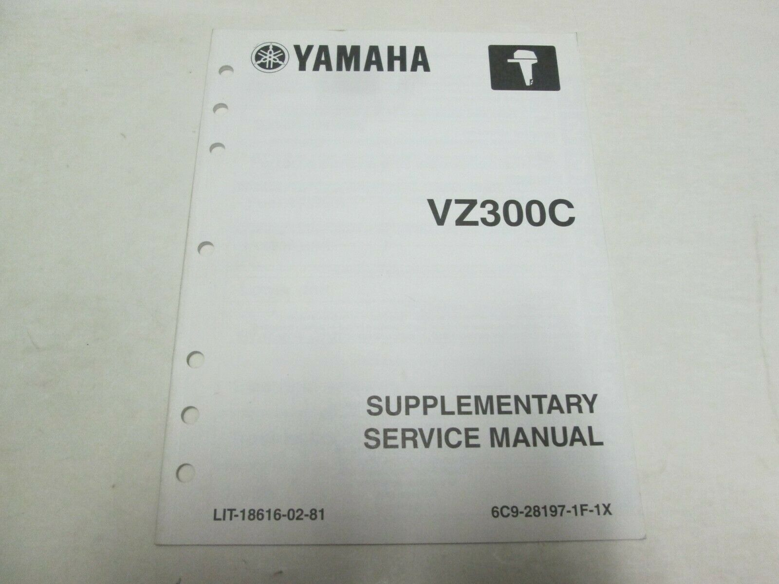 Primary image for 2004 Yamaha VZ300C Supplementare Servizio Manuale LIT-18616-02-81 OEM Barca