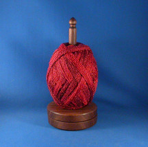 Walnut Yarn / Thread Holder - Natural Wax Finish - $32.50