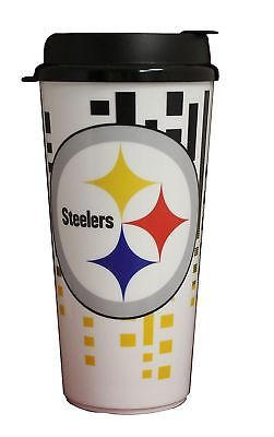 Primary image for The Memory Company NFL Pittsburgh Steelers Hype Travel Cup, 32-Ounce