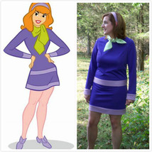 Daphne Blake Costume for adults Daphne Cosplay Costume - $89.00