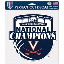 Virginia Cavaliers National Champions Decal,  8 x 8 2019 - $4.99