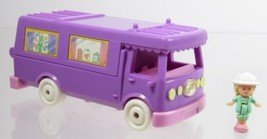 1994 Vintage Polly Pocket Stable on the Go Compact Only +1 Free Doll Blu... - $15.00