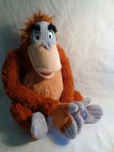 "Disney Store Core King Louie The Jungle Book Plush Velcro Hands 12"" - $14.36"