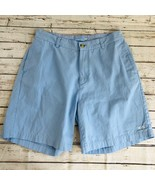 Southern Tiger Men's Flat Front Shorts - Blue - Size 34 (see measurements) - $11.63