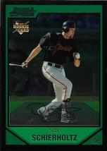 Nate Schierholtz Bowman Chrome 2007 #BDP32 Rookie Card San Francisco Giants - $0.20