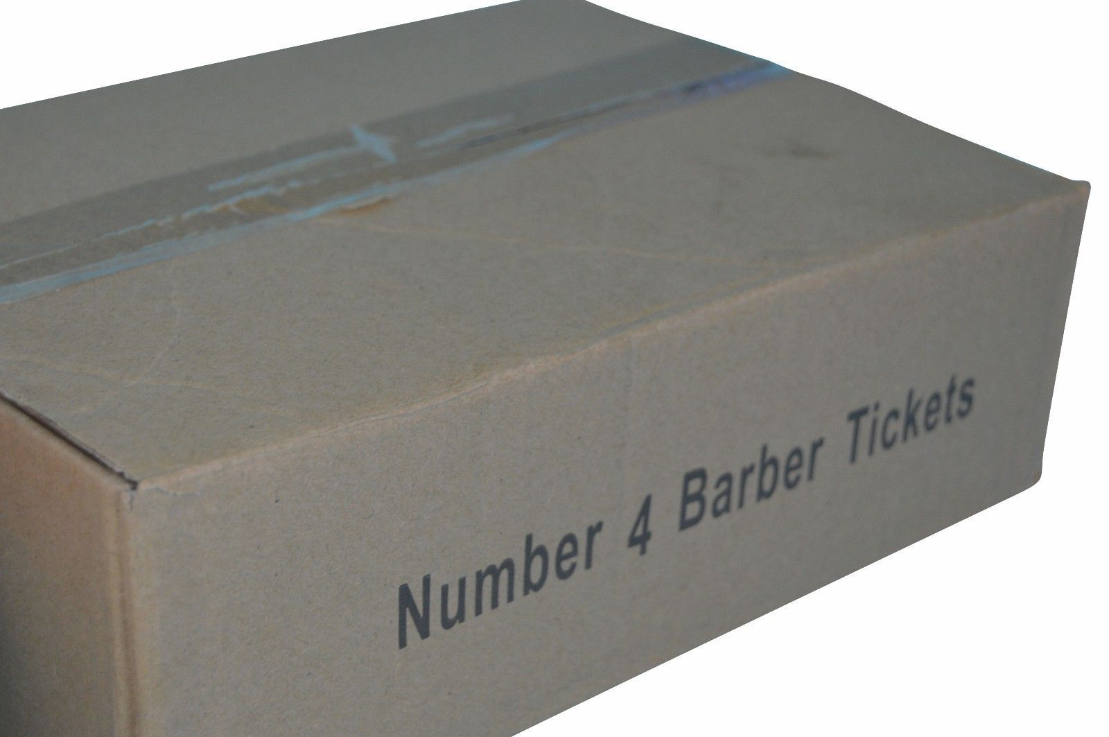 100 Numbered Barbershop Check Pads NUMBER 4