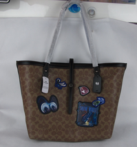 NEW Coach DISNEY X COACH A Dark Fairy Tale Signature  Market Tote  31160 - $197.50
