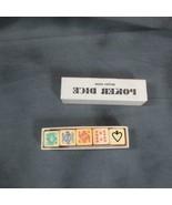 Vintage Boxed Set Poker Dice, British Made, Bakelite? - $10.86