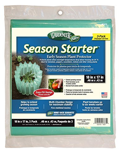 "Dalen Gardeneer By Season Starter Early Season Plant Protector 18"" x 17"" 3 Pack - $27.00"