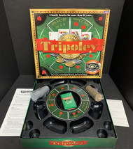 Tripoley Special Edition Game Rotating Turntable Michigan Rummy Poker 2000 - $56.09