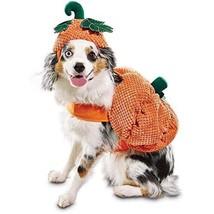 "Bootique Dog Pet Costume Pumpkin Hat L Large New 17-19"" Halloween 2687310 - $24.99"