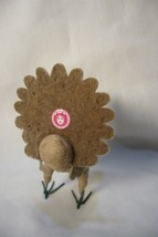 Vintage Inspired Spun Cotton, Thanksgiving Turkey image 2