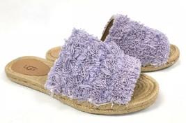 Ugg Australia Edith Slide Yarn Fringe Lavender Fog Purple 1090849 Shoes ... - $69.99