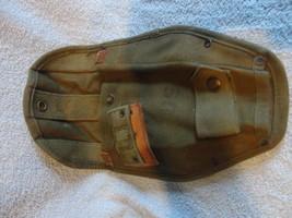 US Military Issue Vietnam Era Canvas Shovel Cover E Tool Cover - $14.95