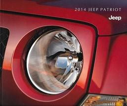 2014 Jeep PATRIOT brochure catalog US 14 Sport Latitude Limited - $6.00
