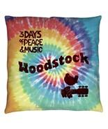 Throw Pillows New Authentic Woodstock Tie Dye Throw Pillow - $25.77+