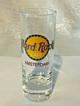 """Hard Rock Cafe Amsterdam - 4"""" Shot Glass - Collector's Item! Save The Planet - $5.95"""