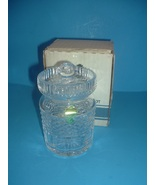 Waterford Crystal Honey Pot with box - $38.99