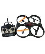 Rockn' RC 8660 Remote Control Stunt Master Quad Copter, Black - $48.99