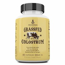 Ancestral Supplements Grass Fed Colostrum - Supports Immune, Gut, Growth and Rep