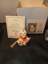 "Lenox Collections Ltd. Ed. Disney Winnie the Pooh ""A Honey of a Holiday""... - $12.00"
