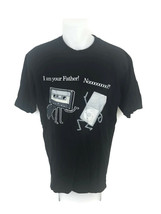I Am Your Father Old Technology Funny T-Shirt Cassette Tape MP3 Player S... - $20.53