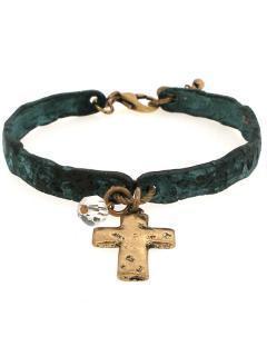 Bracelet - patina/ burnished gold - B0298706