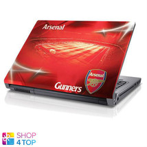 ARSENAL FC LAPTOP SKIN 14 17 INCH STICKER RED FOOTBALL SOCCER OFFICIAL NEW - $27.51