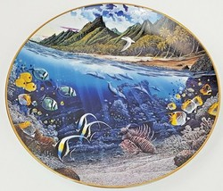 Danbury Mint La'ie's Sacred Princess Underwater Paradise Plate 1991 Rob ... - $12.16