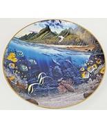 Danbury Mint La'ie's Sacred Princess Underwater Paradise Plate 1991 Rob ... - $12.16