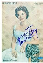 Nanette Fabray autographed 8x10 photo Image #1 - $55.00