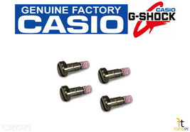 Casio 10502708 Gun-Metal Watch Bezel SCREW (1H/5H/7H/11H) GST-200 GST-210 QTY 4 - $33.25